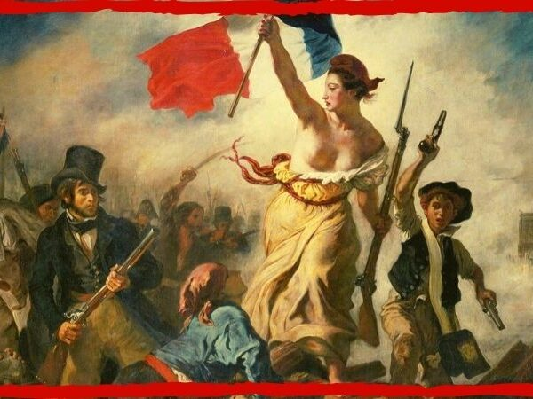 Delacroix liberty guiding the people