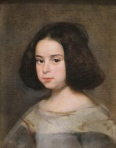 Diego Velazquez retrato de niña