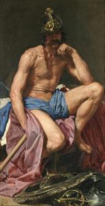 Diego Velázquez Marte, 1639-41, Museu do Prado, Madrid
