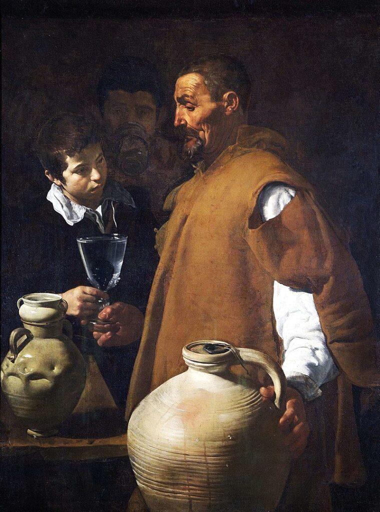 El aguador de Sevilla por Diego Velázquez